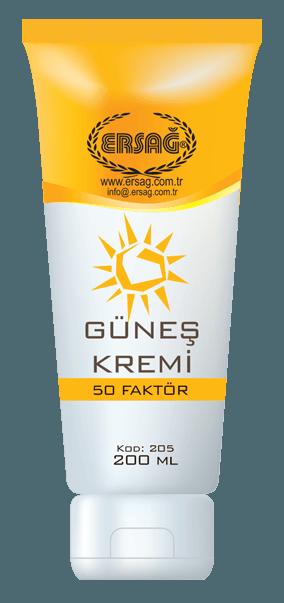 Ersağ 50 Faktörlü Güneş Kremi