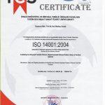 ersağ kalite belgesi 14001