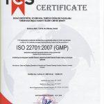 ersağ kalite belgesi 22701