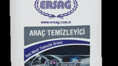 Araç temizliği ve bakımı için özel formüllü Ersağ Araç Temizleyici