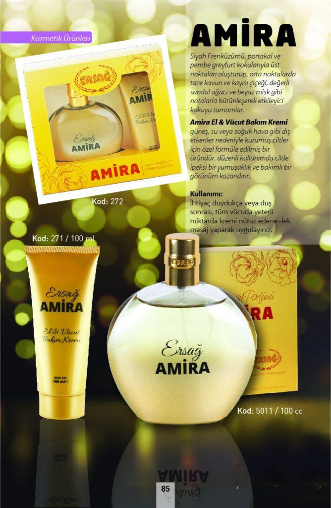 ersağ amira parfüm